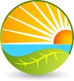 Natura logo Obraz Stock