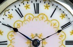 Natura morta alta vicina dell'orologio da tasca Fotografia Stock Libera da Diritti