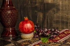 Natura morta armena sul vecchio fondo di modo Immagine Stock Libera da Diritti