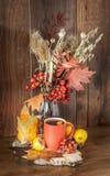 Natura morta in Autumn Mood fotografia stock libera da diritti