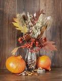 Natura morta con Autumn Crops fotografia stock