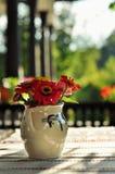 Natura morta dei fiori in vaso Fotografia Stock