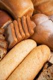 Natura morta del pane fresco Fotografia Stock Libera da Diritti