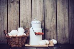 Natura morta della cucina del paese Immagini Stock Libere da Diritti