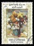 Natura morta della pittura da Renoir Fotografie Stock