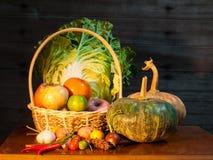 Natura morta della verdura della miscela Fotografie Stock