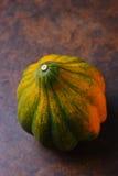 Natura morta della zucca di ghianda Fotografie Stock