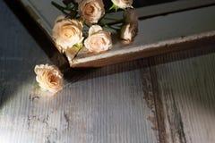 Natura morta delle rose Immagini Stock Libere da Diritti