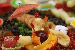 Natura morta di frutta Fotografia Stock