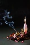 Natura morta di fumo Fotografia Stock Libera da Diritti