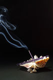 Natura morta di fumo Fotografie Stock Libere da Diritti