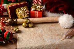 Natura morta di Natale Fotografia Stock