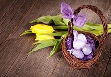 Natura morta di Pasqua Fotografie Stock Libere da Diritti