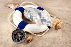 Natura morta marina. Fotografia Stock