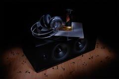 Natura morta musicale Fotografia Stock