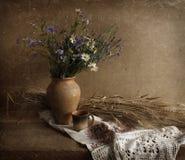Natura morta russa tradizionale Fotografia Stock Libera da Diritti