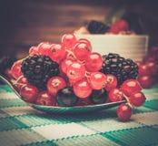 Natura morta sana della prima colazione Fotografia Stock