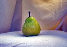 Natura morta verde della pera Fotografie Stock