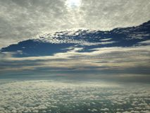Natura na niebie Obrazy Stock