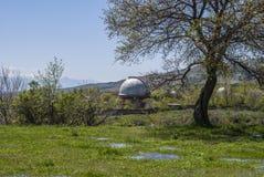 Natura nell'osservatorio di Byurakan Immagine Stock