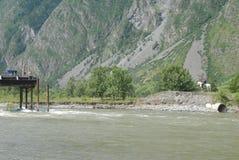Natura nelle montagne di Altai Fotografia Stock