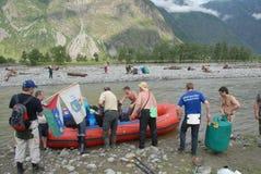Natura nelle montagne di Altai Immagini Stock Libere da Diritti