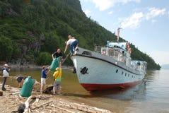 Natura nelle montagne di Altai Fotografia Stock Libera da Diritti