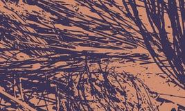 Natura Niezwykły Plakatowy projekt ilustracja wektor