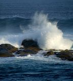 Natura - oceano Fotografia Stock Libera da Diritti