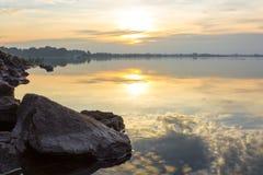 Natura, paesaggio, cielo Fotografie Stock Libere da Diritti