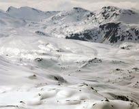 Natura, paesaggio e montagna stupefacenti nelle alpi Svizzera Fotografie Stock