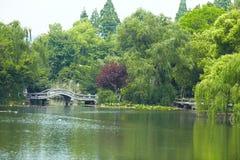 Natura parka sceneria, Hangzhou obrazy stock