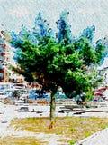Natura po środku miasta Obrazy Stock