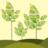 Natura projekt royalty ilustracja