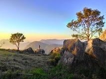 Natura przy górą Zdjęcie Royalty Free