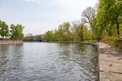 Natura przy Grodowym Charlottenburg w Berlin Fotografia Stock