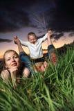 natura rodzinna Zdjęcia Stock