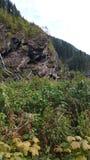 Natura scenica in una regione montagnosa Immagini Stock