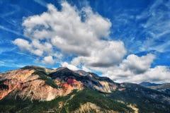 Natura stupefacente nelle alpi di Torinese Immagini Stock Libere da Diritti