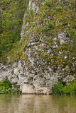 Natura sul fiume, bordo di Ural di perm Immagini Stock