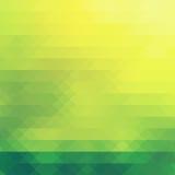 Natura, tema verde nel modello dei diamanti Fotografia Stock