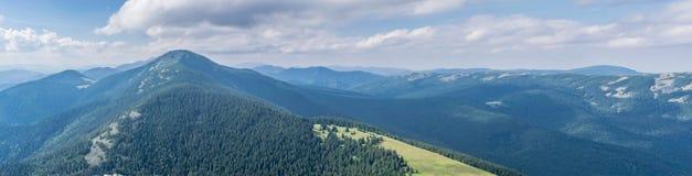 Natura Ukraina carpathian najlepszy widok góry fotografia royalty free