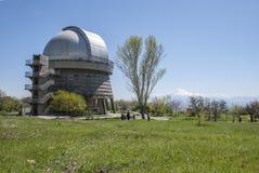 Natura w Byurakan obserwatorium Fotografia Stock