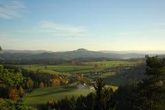 Natura w Czechswitzerland parku narodowym Zdjęcia Stock