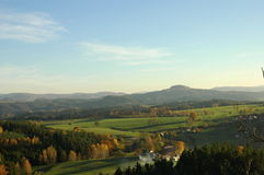 Natura w Czechswitzerland parku narodowym Fotografia Stock