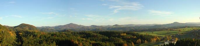 Natura w Czechswitzerland parku narodowym Obraz Stock