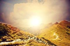 Natura w górach Zdjęcie Royalty Free