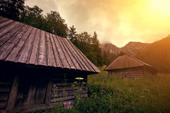 Natura w górach Fotografia Royalty Free