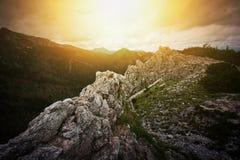Natura w górach Zdjęcie Stock