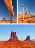 Natura w Pomnikowym Dolinnym Navajo parku, Utah usa Zdjęcie Royalty Free